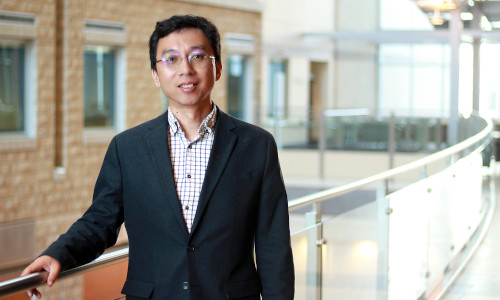 Bo Cao, a member of the computational psychiatry group at the University of Alberta.